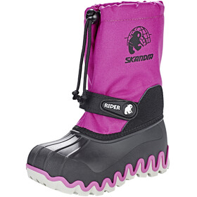 High Colorado Snowy Winterboots Kids schwarz-pink